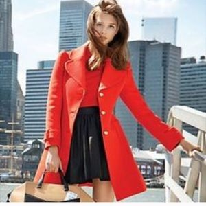 Kate Spade Eryn Wool Trench Coat